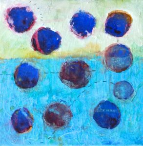 Red and Blue Planets, 2014